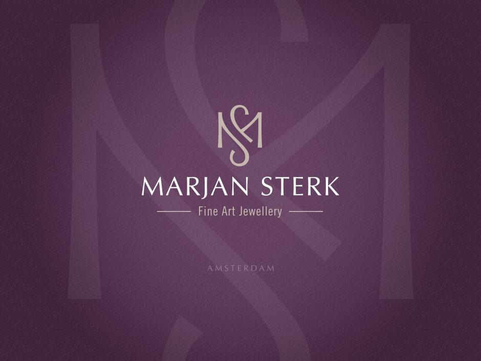 Marjan Sterk Fine Art Jewellery logo