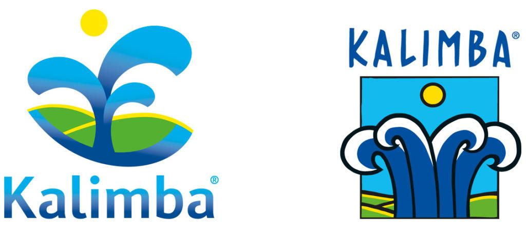 Kalimba logo old new - Rene Verkaart