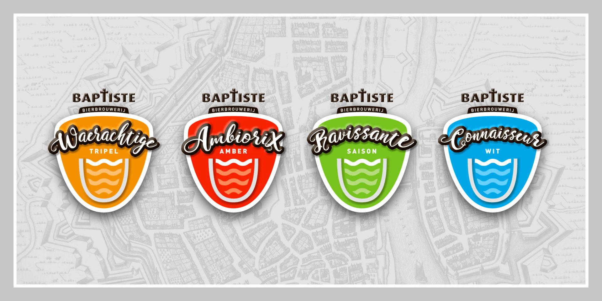 Baptiste etiketten - Jeroen Borrenbergs)