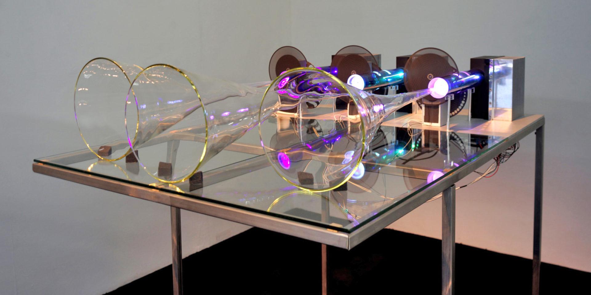 Glazen speakers - Jeroen Borrenbergs)