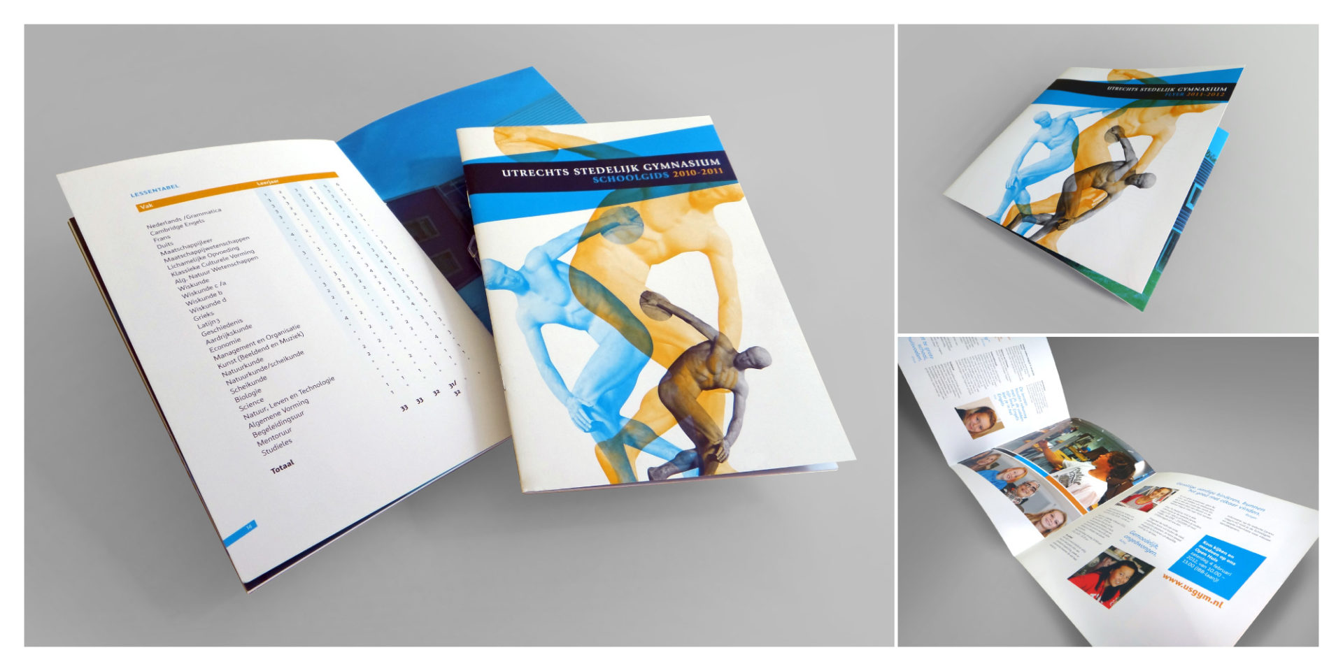 Utrechts Stedelijk Gymnasium brochure - Rene Verkaart)