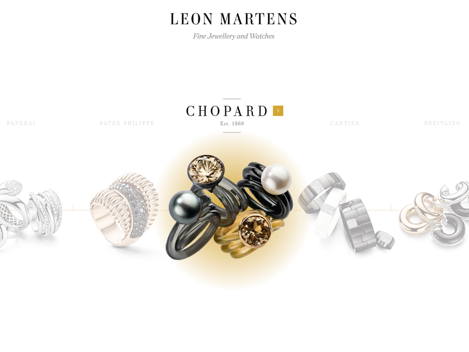Leon Martens Chopard wit