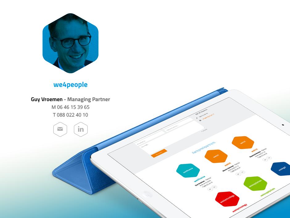 We4people contact - Rene Verkaart