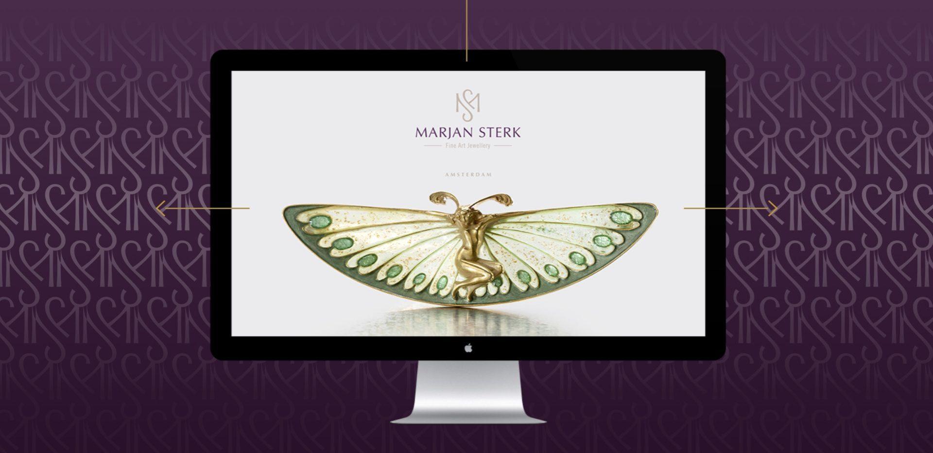 Marjan Sterk maatwerk website - Rene Verkaart)