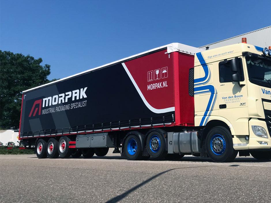 Morpak trailer EPS bestand Encapsulated PostScript - Rene Verkaart