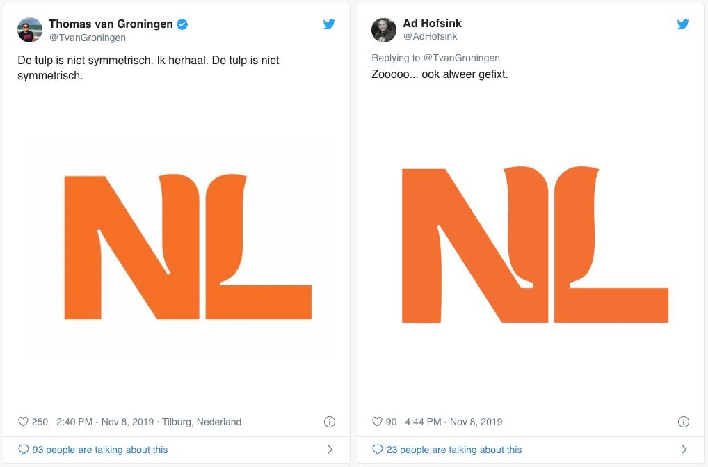 NL Netherlands logo - Rene Verkaart