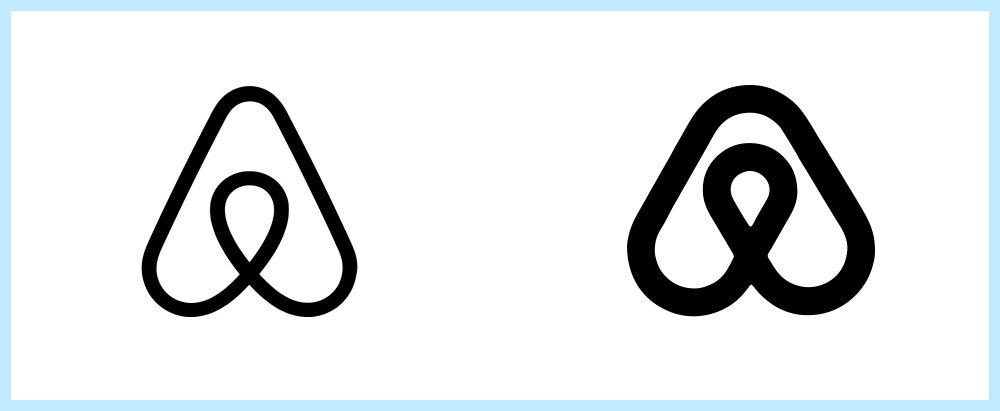 Airbnb logo rip off - Rene Verkaart