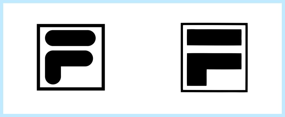 Fila logo rip off - Rene Verkaart