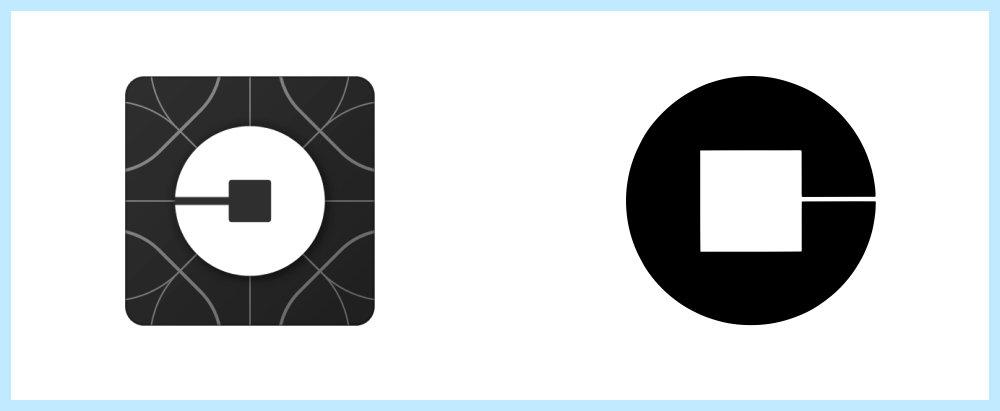 Uber logo rip off - Rene Verkaart