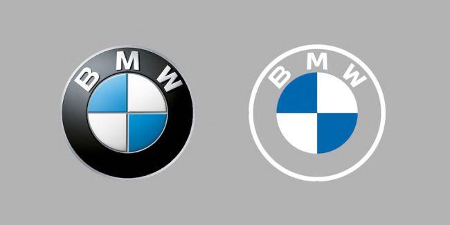 BMW Flat Design logo