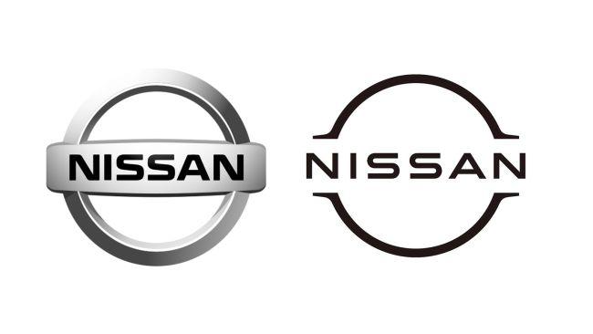 Nissan Flat Design logo