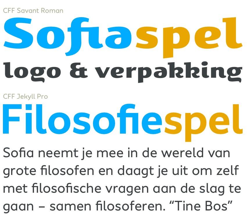 Sofia typografie - Rene Verkaart