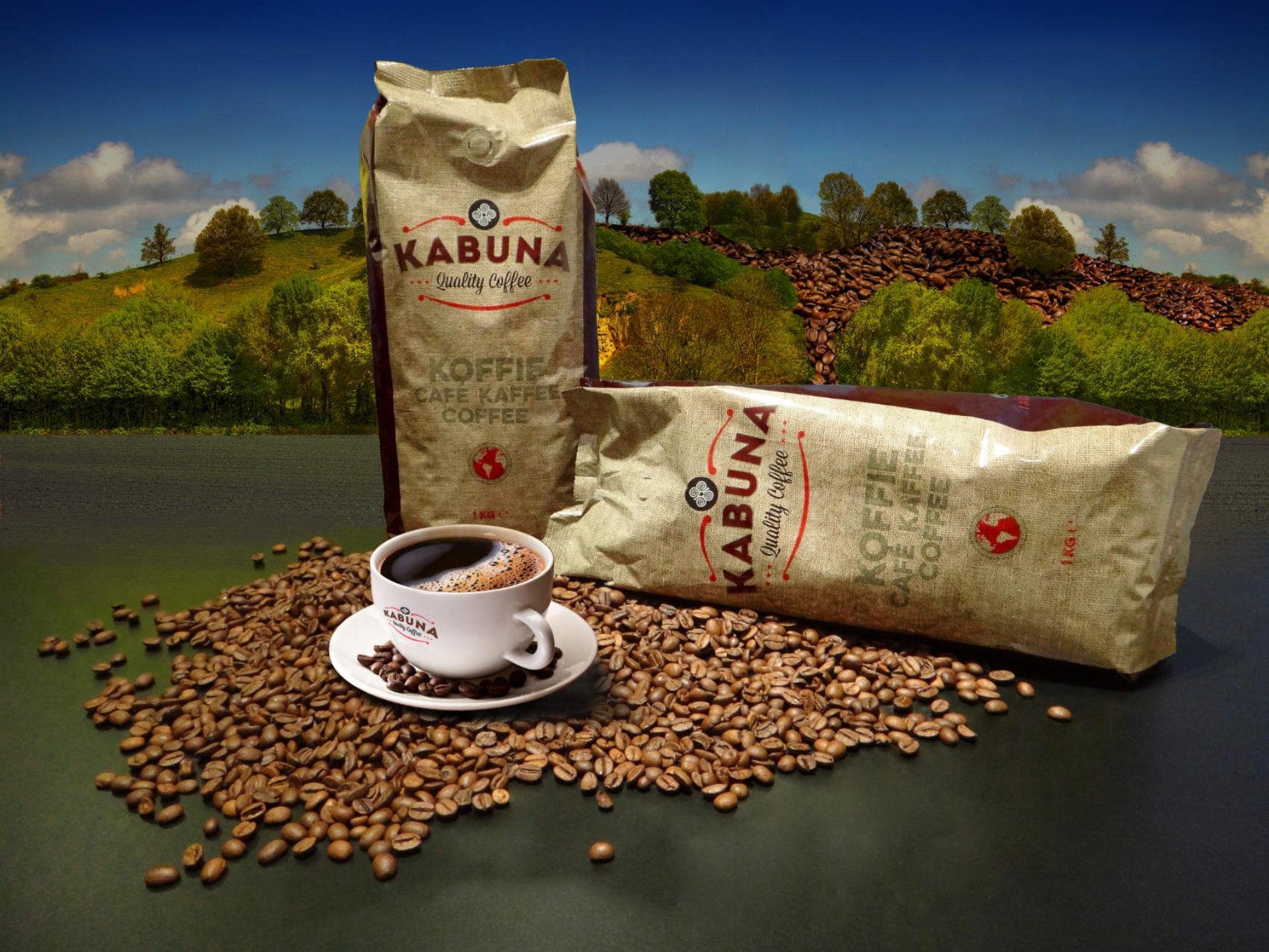 Kabuna koffie verpakking - Rene Verkaart)