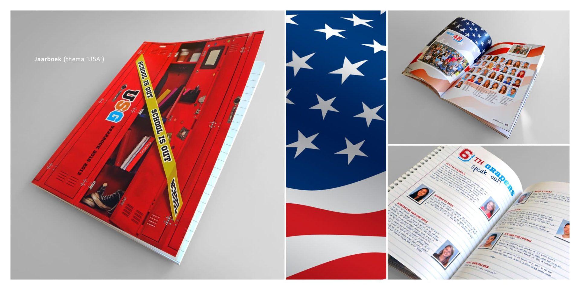 USG jaarboek USA - Jeroen Borrenbergs)