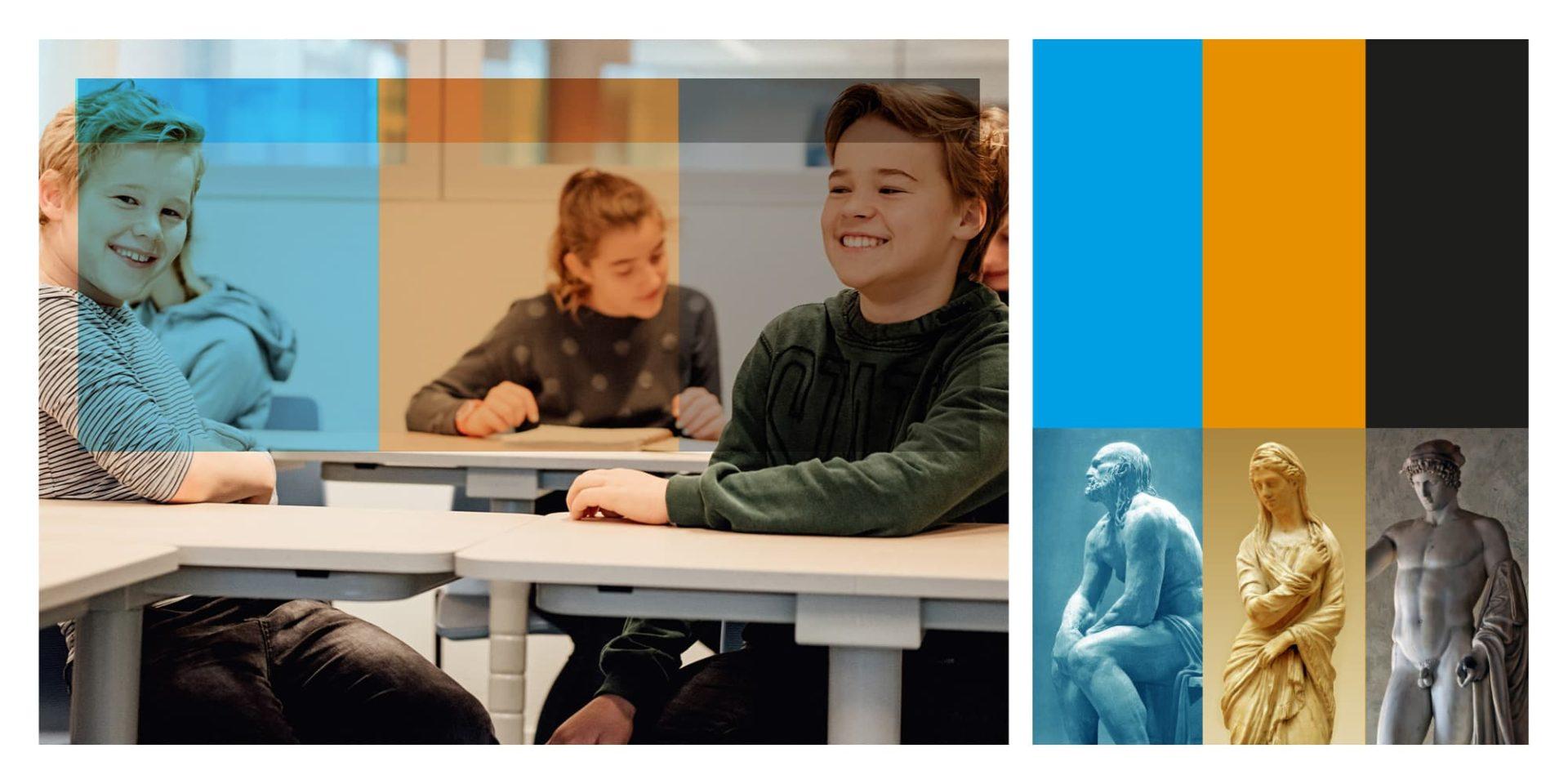 Utrechts Stedelijk Gymnasium kinderen - Jeroen Borrenbergs)