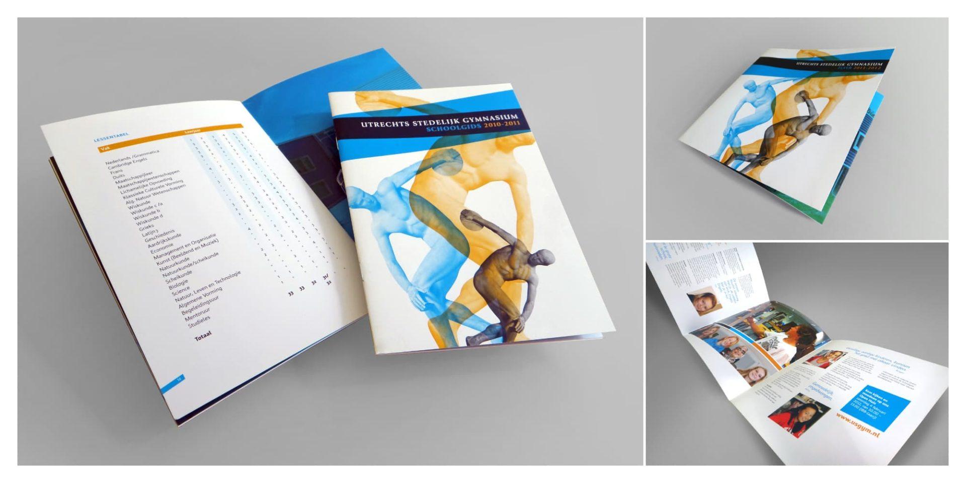 Utrechts Stedelijk Gymnasium brochure - Jeroen Borrenbergs)