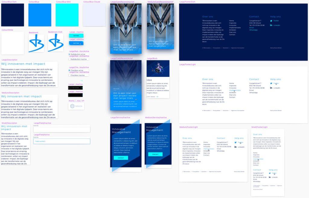 TBinnovators design system Assets - Rene Verkaart